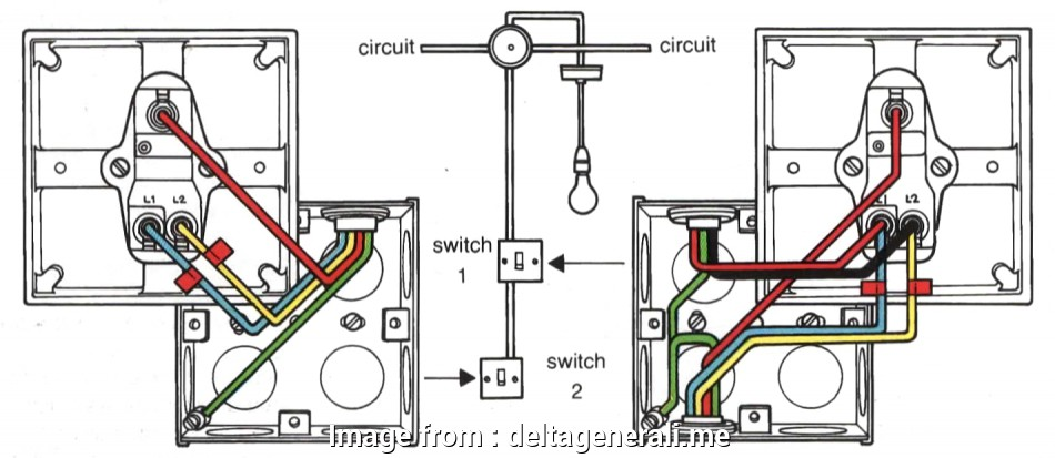 Light Switch Wiring 4 Gang Creative Wiring Diagram 3  Light Switch Gang 2  1 Lights Collections