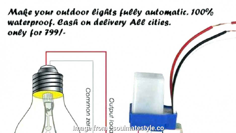 Photocell Switch Wiring Diagram from tonetastic.info
