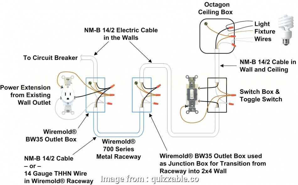 Light Switch Wiring Diagram With Outlet Nice Light Switch