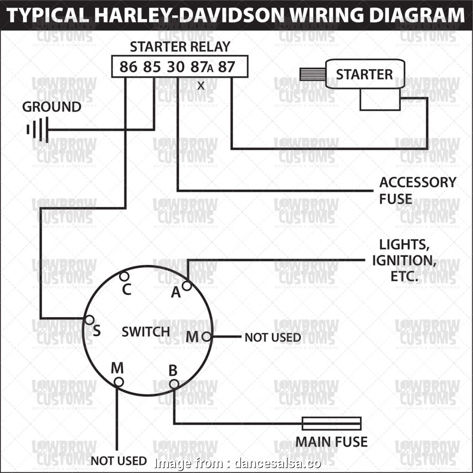 Lucas Starter Wiring Diagram Simple Weatherpoof Starter Ignition Switch Rh Lowbrowcustoms  Chevy