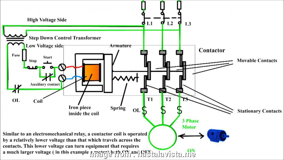 Iec Motor Starter Wiring Diagram - Database