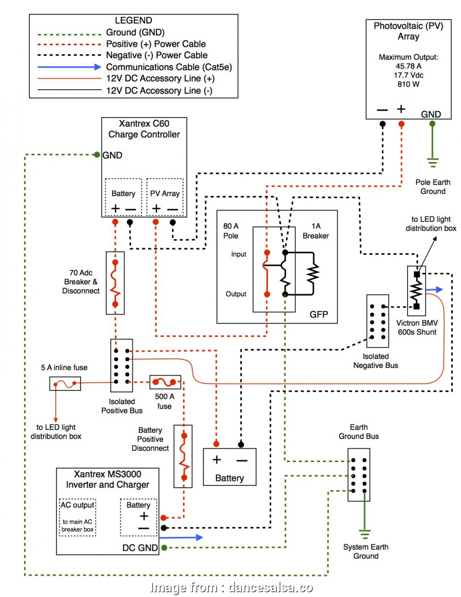 Mk Single Light Switch Wiring Perfect Off Grid System Diagrams Offgridcabin Rh Offgridcabin