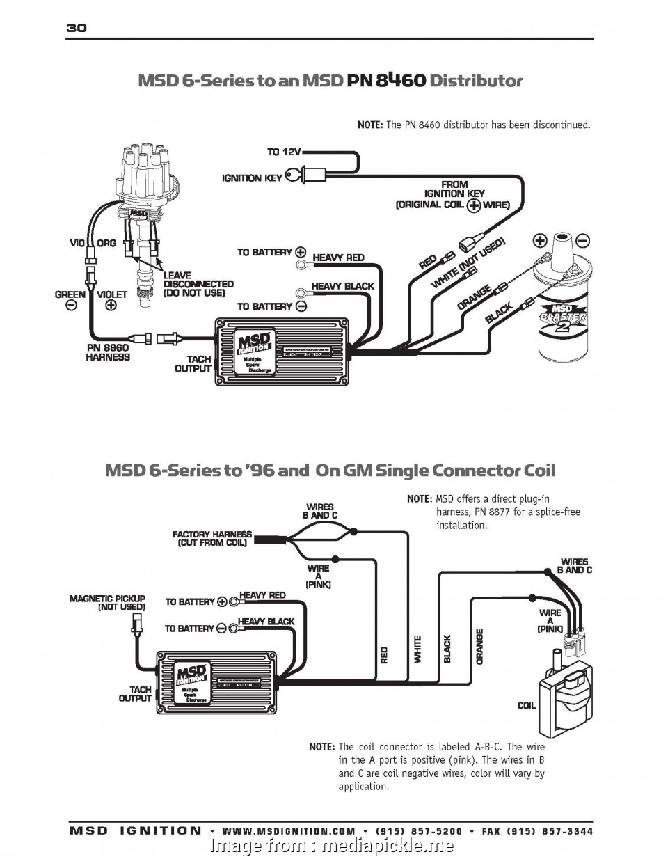 Msd 6a Wiring Diagram Chevy Hei Most Msd  Wiring Diagram Ford Mustang Ignition Schematic Chevy