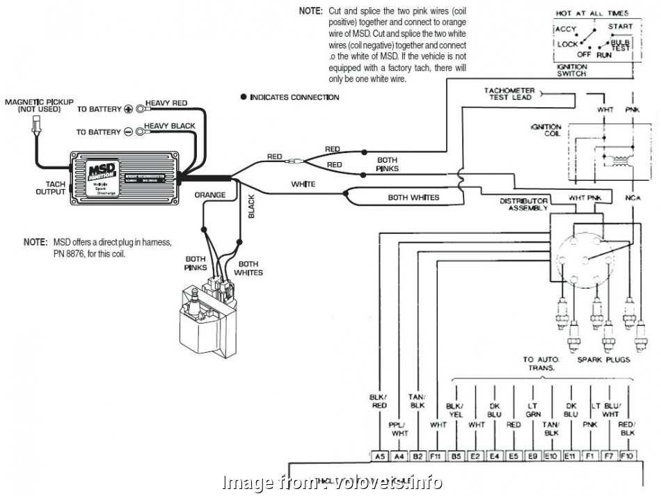 Msd 6a Wiring Diagram Gm Simple Hei Ignition Wiring Diagram  Distributor Coil  6al Gm To  Inside