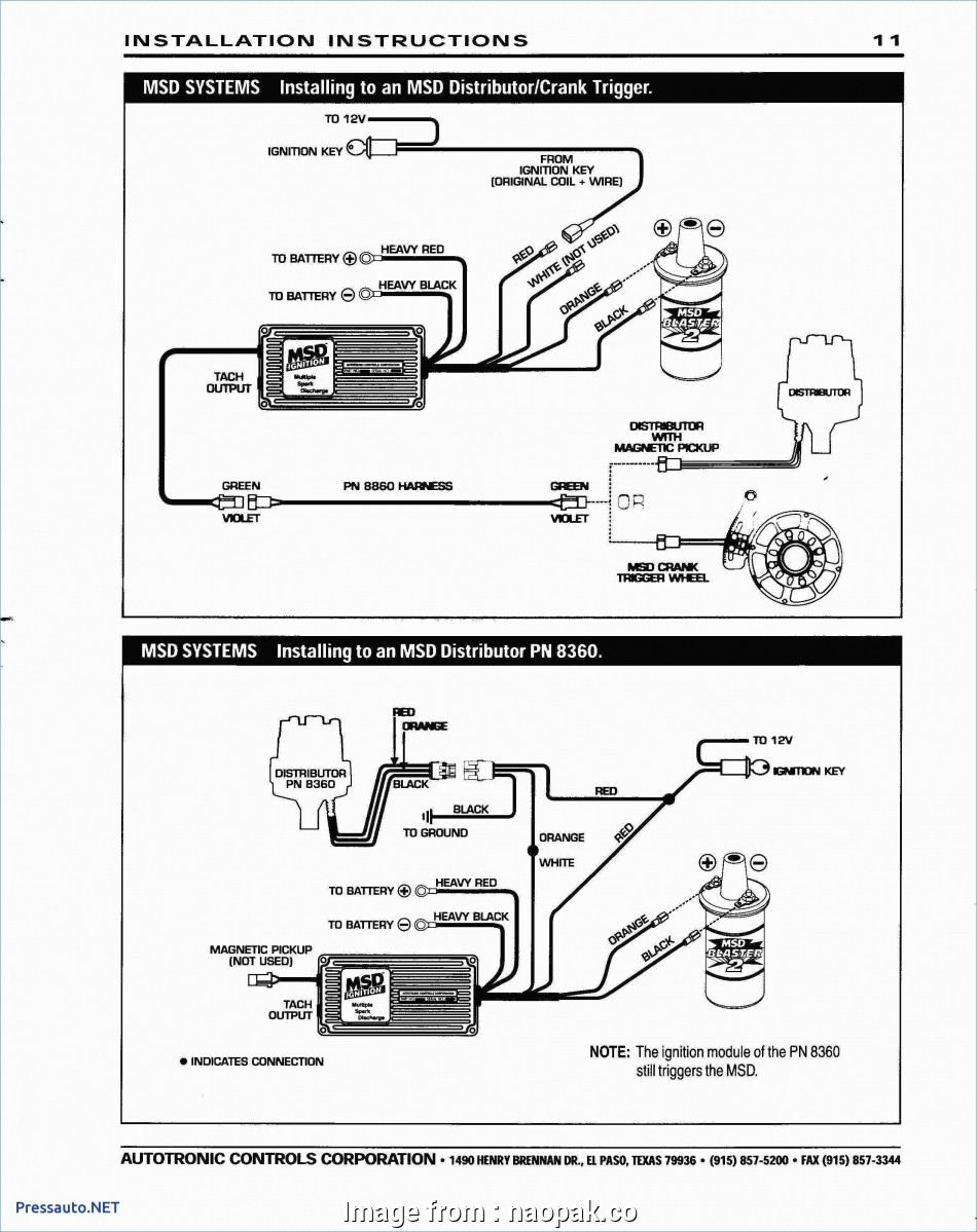 Msd Grid To  Wiring Diagram Top Dodge Electronic Ignition Wiring Diagram Luxury  Chevy  Rh