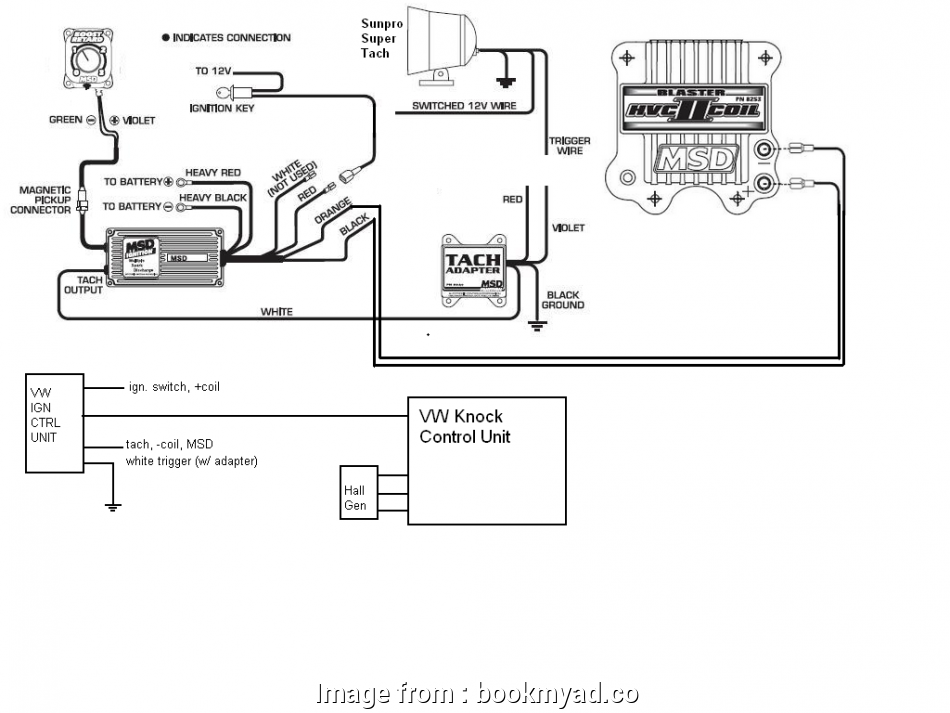 Msd Grid To  Wiring Diagram Fantastic Tach Adapter What To  On Mkii Vw Rh Forums Msdperformance
