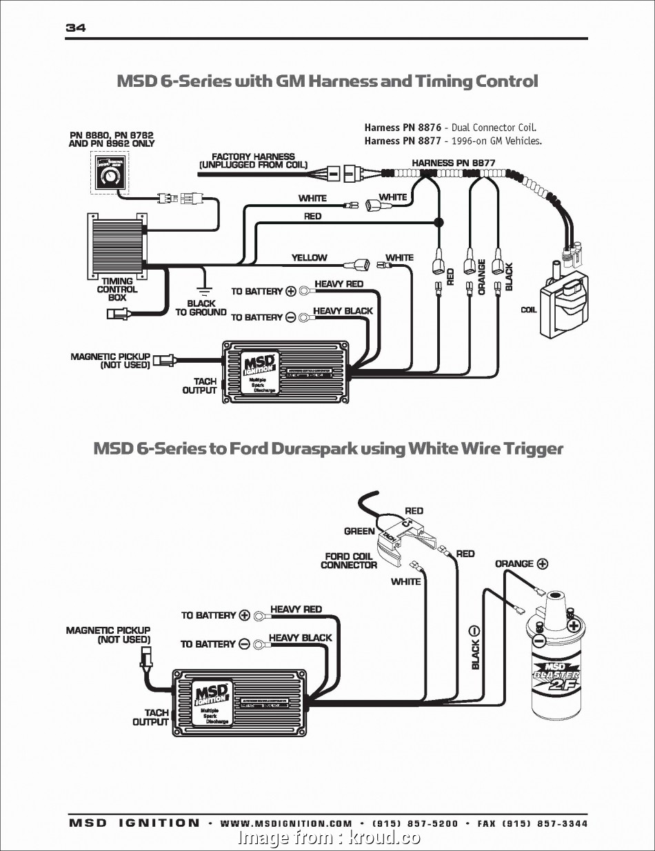 Msd  Wiring Diagram Lt1 Professional Hei Distributor Wiring Diagram Unique  6al Wiring Diagram