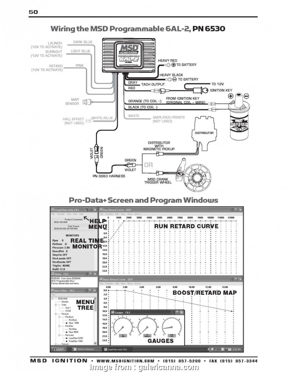 Msd  Wiring Diagram Lt1 Best Wonderful  6al 6420 Wiring Diagram  S Electrical Endear Of