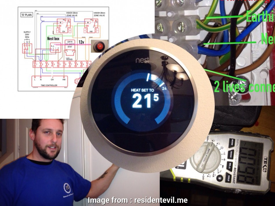 Nest Thermostat Wiring Diagram  Heat Only Creative Nest Thermostat Wire Diagram  Heat Only