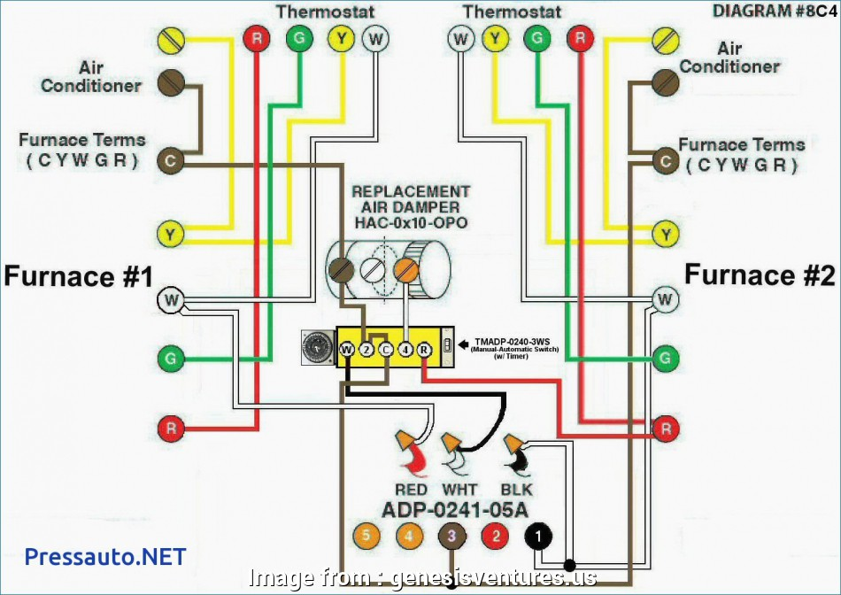 Old Furnace Thermostat Wiring Diagram Brilliant Lennox Ac