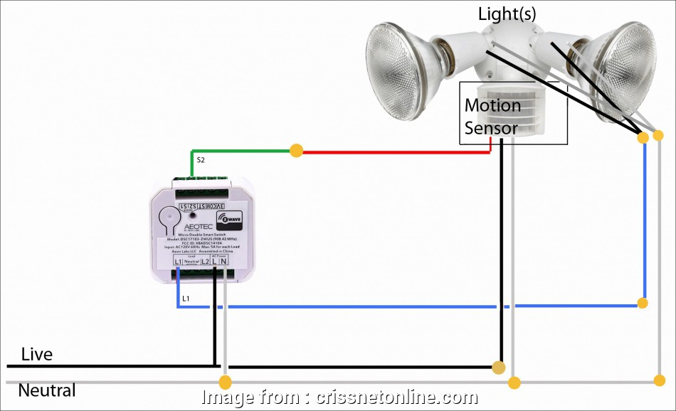 Old Style Double Light Switch Wiring Practical Heath Zenith Motion Sensor Light Wiring Diagram