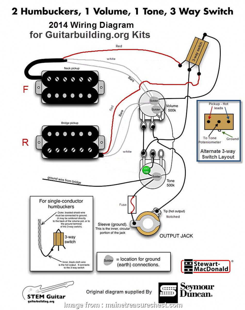 Pass Seymour 3  Switch Wiring Diagram Cleaver Wiring Up A Guitar  Contemporary Tone  Guitar