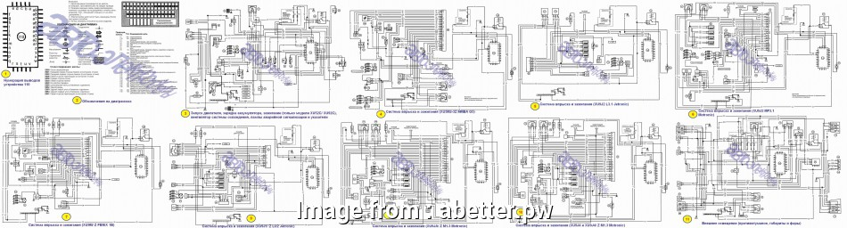 Peugeot  Electrical Wiring Diagram Perfect Peugeot