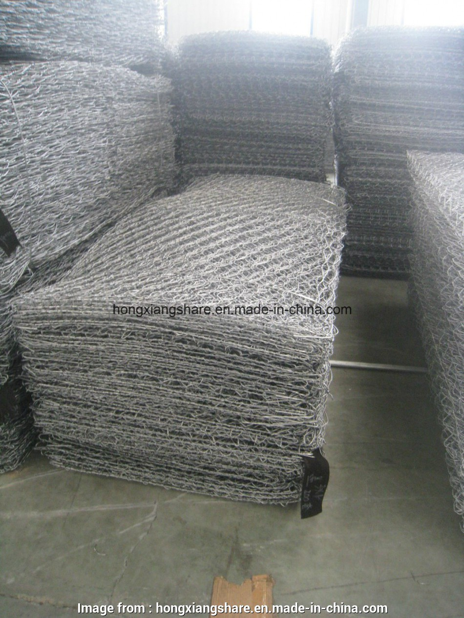 pvc coated gabion wire mesh China Gabion Wire Mesh with Gi/PVC Coated (JH-L02) Photos 8 Best Pvc Coated Gabion Wire Mesh Pictures