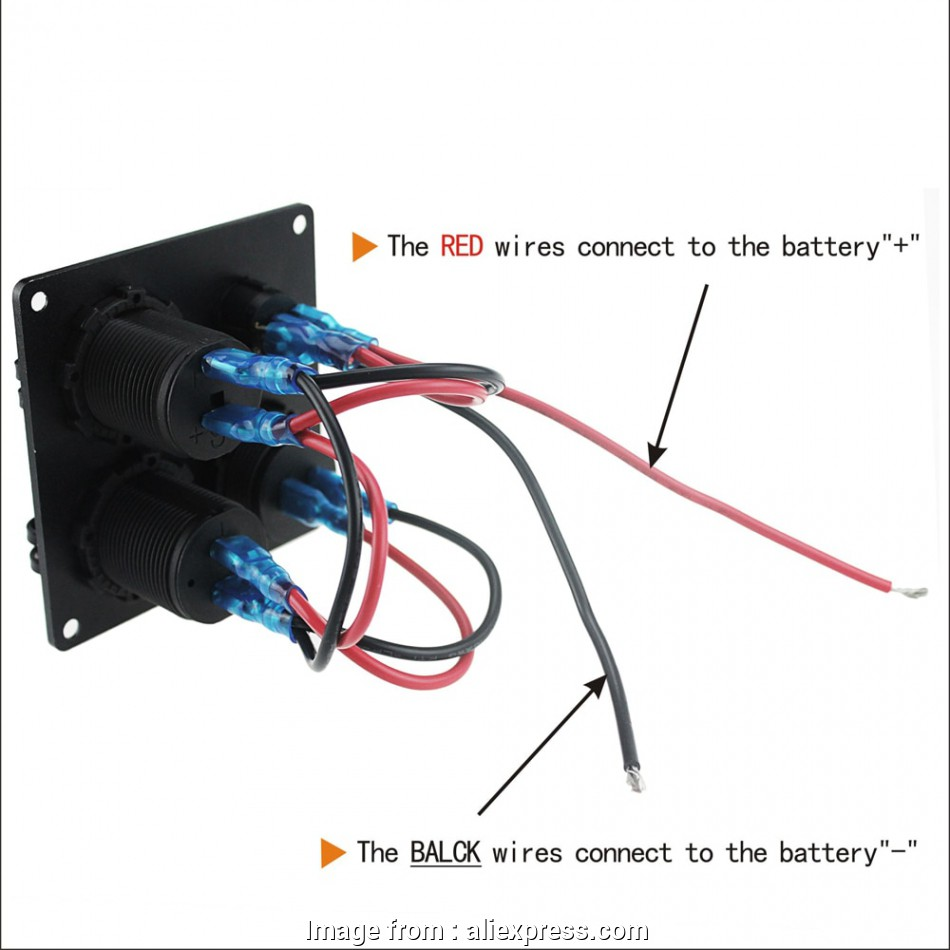 Red Wire In Electrical Panel Best 4 Function Waterproof