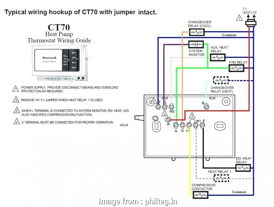 Ritetemp 8022 Thermostat Wiring Diagram Practical     8022