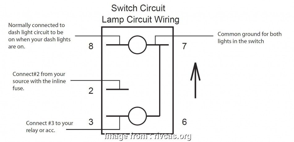 Rocker Switch Wiring 4 Pin Cleaver     Lighted Rocker