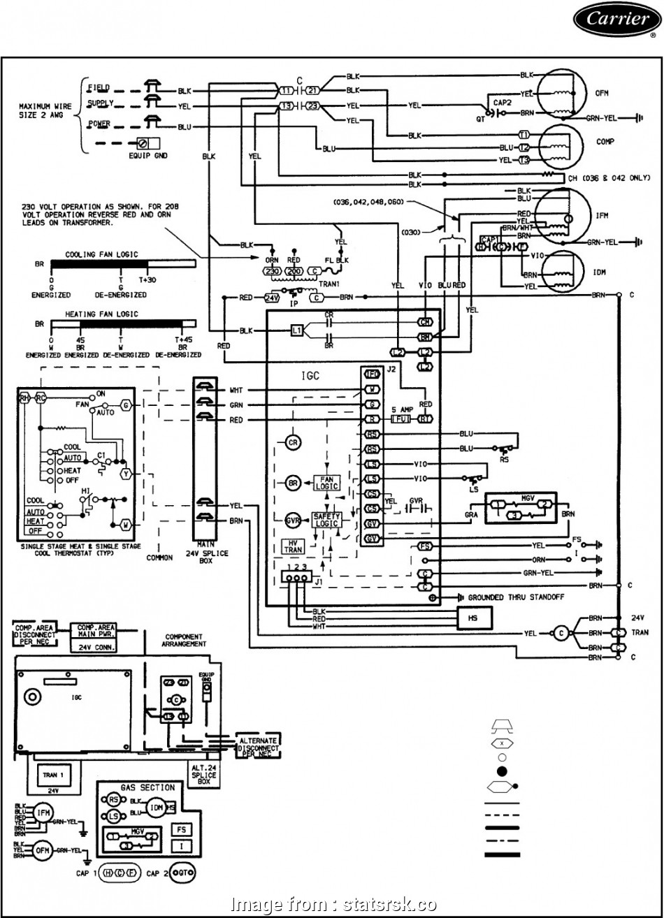 Single Stage Thermostat Wiring Diagram Simple Carrier Electric Furnace Thermostat Wiring Trusted