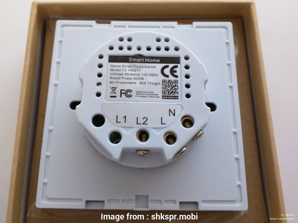 Smart Light Switch No Neutral Wire Professional The