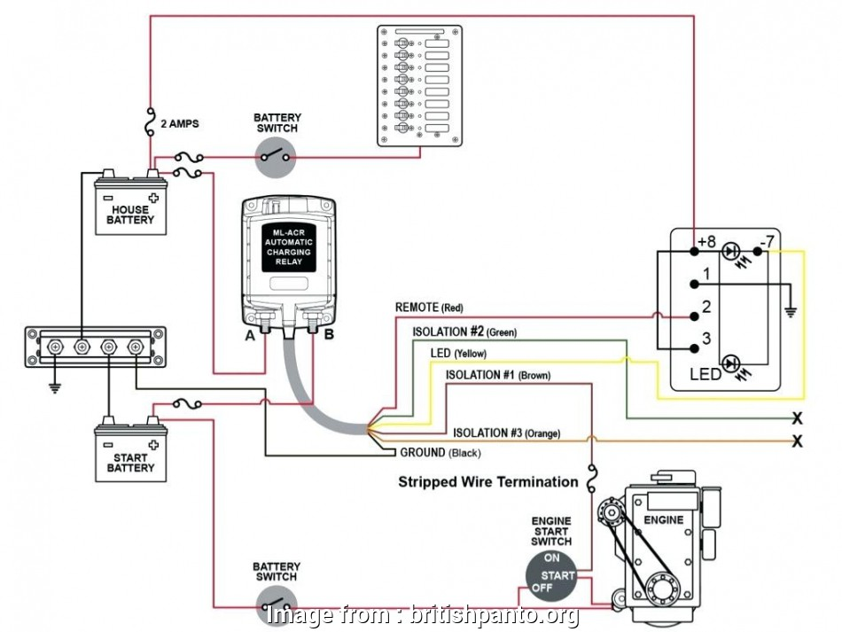Starter Kill Relay Wiring Diagram Top     Boat Dual