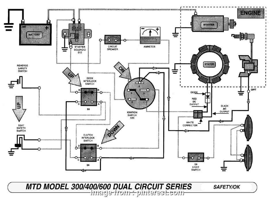 Starter Solenoid Wiring Diagram Lawn Mower Most Starter