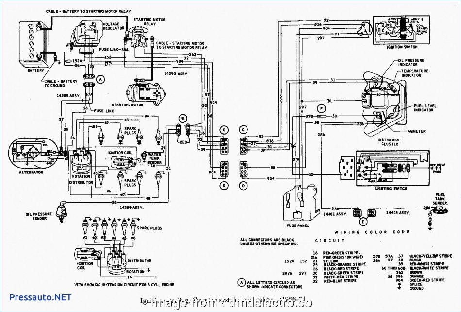 Starter Wiring Diagram  Chevy 350 Professional Chevy  Distributor Wiring Diagram Excellent Stain