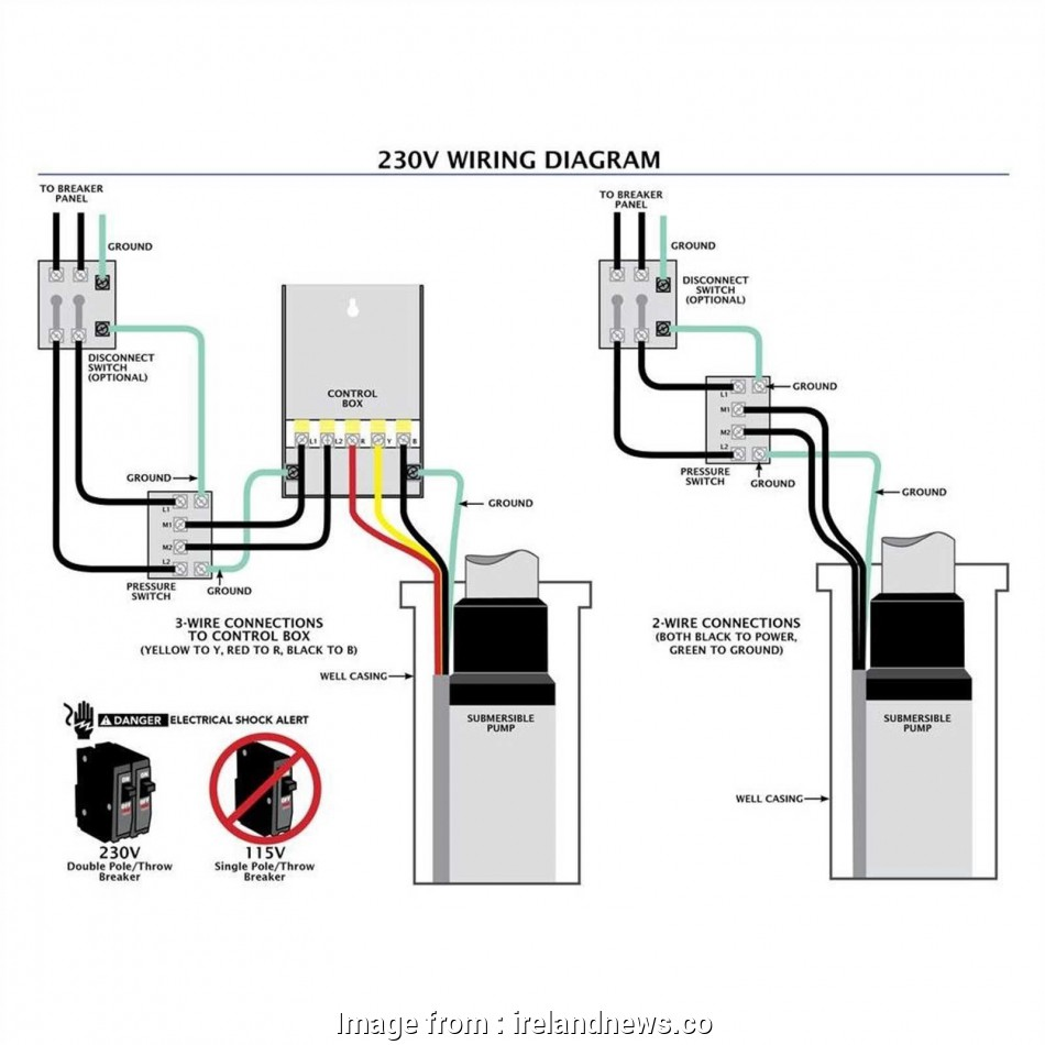 Submersible Pump Starter Wiring Diagram Top Gallery Of ...