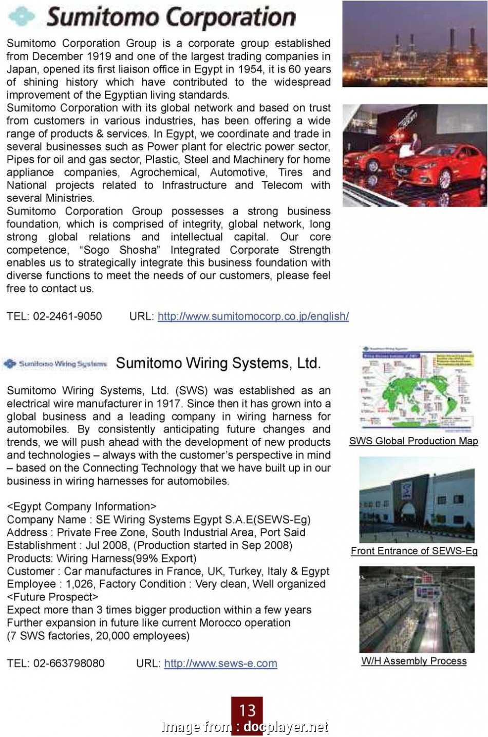 Sumitomo Electric Wiring System  Ltd Creative Sumitomo Corporation With  Global Network  Based