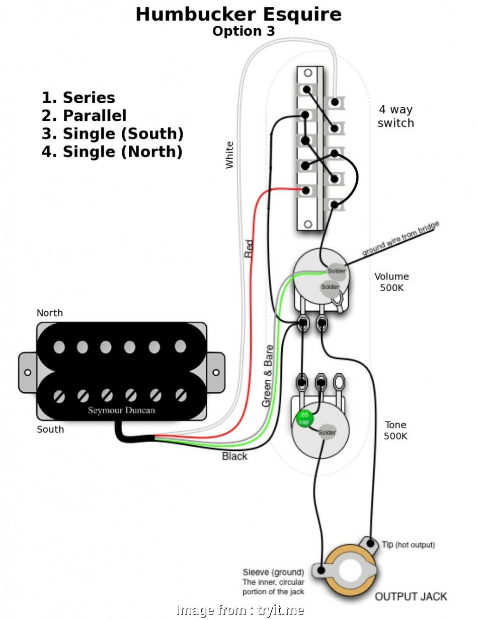 Telecaster 2 Humbuckers 4  Switch Wiring Diagram Most Tele