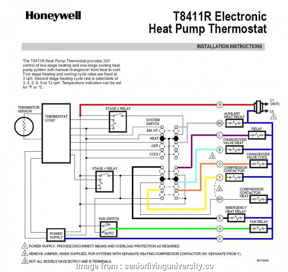 13 Perfect Thermostat Wiring Diagram With Heat Pump Photos Tone Tastic Honeywell Relay Trusted U2022 Rh