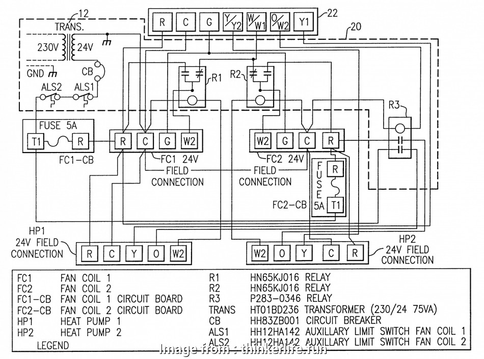 Thermostat Wiring Diagram With Heat Pump Most Heat Pumps Diagram  Heat Pump Wiring Diagram