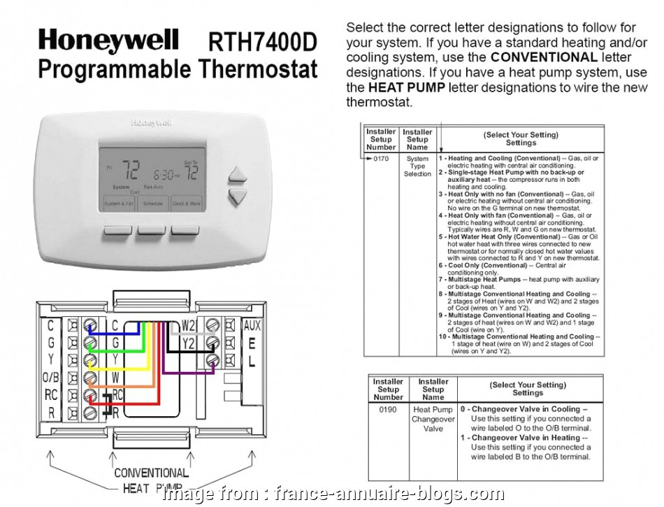 Thermostat Wiring Diagram With Heat Pump Brilliant