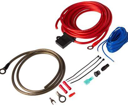 10 gauge amp power wire Rockford 10, Power Installation Kit 9 Practical 10 Gauge, Power Wire Solutions
