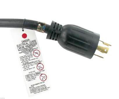10 Gauge Wire, 30 Amps Cleaver 30, 10 FT NEMA L14-30 4 Wire 10 Gauge 125/250V Generator Power Cord CULus Pictures