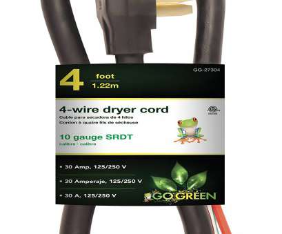 10 Gauge Wire, 30 Amps Creative Get Quotations · GoGreen Power GG-27304 4' 4 Wire Dryer Cord, 30 Amp Solutions