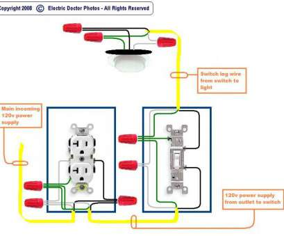 110V Light Switch Wiring Diagram Practical ... Wonderful ...