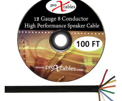 12 gauge 8 conductor wire Amazon.com: ProX Cables XC-8 COND-100FT, 12 Gauge 8 Conductor High Performance Cable, Ft. Roll: Home Audio & Theater 18 Brilliant 12 Gauge 8 Conductor Wire Pictures