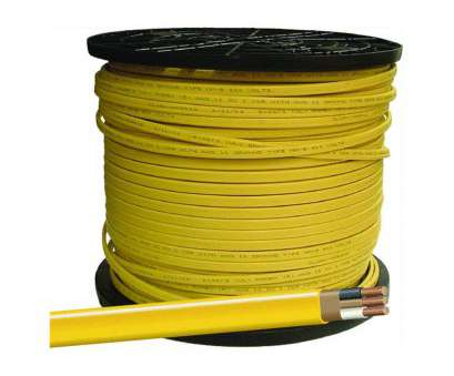 12 Gauge House Wire Brilliant Southwire Building Wire 12, 2 Conductor 20, 600 V 90, C 1000 ' Yellow, Electrical Wires, Amazon.Com Photos