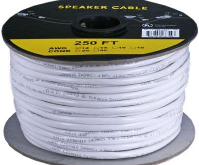 12 gauge speaker wire in wall Details about 250FT 12 Gauge Speaker Wire Cable Home Audio 2 Conductor Pure Copper, In-Wall 9 Most 12 Gauge Speaker Wire In Wall Collections