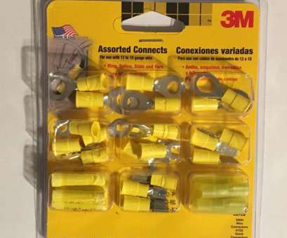 12 gauge wire assortment 3M Yellow Assorted Connectors Part Number 03804NA, Use With 10-12 Gauge Wire #3M 12 Gauge Wire Assortment Creative 3M Yellow Assorted Connectors Part Number 03804NA, Use With 10-12 Gauge Wire #3M Collections
