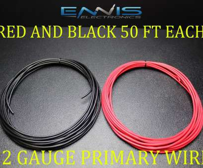 12 gauge wire awg 12 Gauge Wire, Ft Ennis Electronics 50, 50 Black Primary, Copper Clad, $15.95 12 Gauge Wire Awg Perfect 12 Gauge Wire, Ft Ennis Electronics 50, 50 Black Primary, Copper Clad, $15.95 Galleries