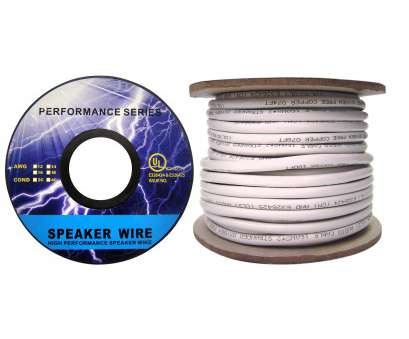 14 gauge speaker wire 50 ft Speaker Cable, White, Pure Copper, CM / In-wall rated, 14 14 Gauge Speaker Wire 50 Ft Simple Speaker Cable, White, Pure Copper, CM / In-Wall Rated, 14 Ideas