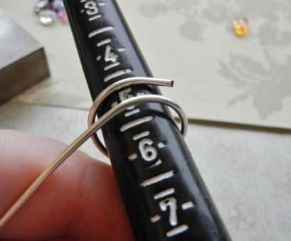 14 gauge wire ring Using, 14 gauge wire, wrap around, ring mandrel where, want, size to, Use a ring sizer to know what size of ring, need 10 Brilliant 14 Gauge Wire Ring Pictures