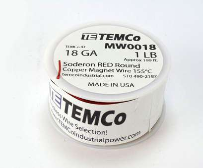18 gauge magnet wire Amazon.com: TEMCo 18, Copper Magnet Wire, lb, ft 155°C Magnetic Coil Red: Home Improvement 18 Gauge Magnet Wire Brilliant Amazon.Com: TEMCo 18, Copper Magnet Wire, Lb, Ft 155°C Magnetic Coil Red: Home Improvement Collections