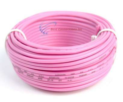 18 gauge pink wire 18 GA 50 Feet Pink Audiopipe, Audio Home Remote Primary Cable Wire LED 18 Gauge Pink Wire Fantastic 18 GA 50 Feet Pink Audiopipe, Audio Home Remote Primary Cable Wire LED Images