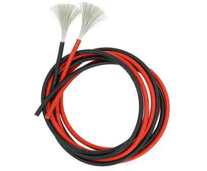 18 Gauge Silicone Wire Simple Get Quotations · BNTECHGO 10 Gauge Silicone Rubber Wire 20 Feet, Ft Black, 10 Ft Red Ideas