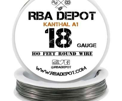 18 gauge wire is how many mm 18 Gauge, Premium Kanthal Wire Alloy A1 Resistance Wire 1.02mm Roll -, Depot 9 Popular 18 Gauge Wire Is, Many Mm Photos