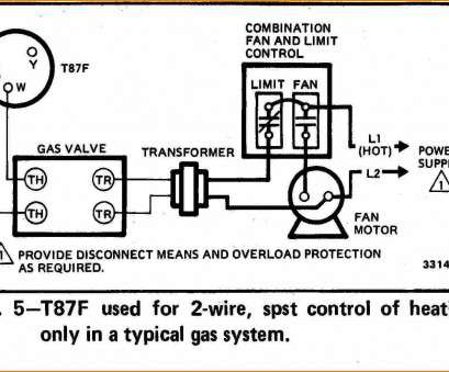 8 Popular 2 Wire Thermostat Wiring Diagram Collections