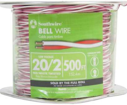 22 gauge 2 conductor bell wire Southwire, ft. 20/2 Twisted CU Bell Wire 22 Gauge 2 Conductor Bell Wire New Southwire, Ft. 20/2 Twisted CU Bell Wire Collections