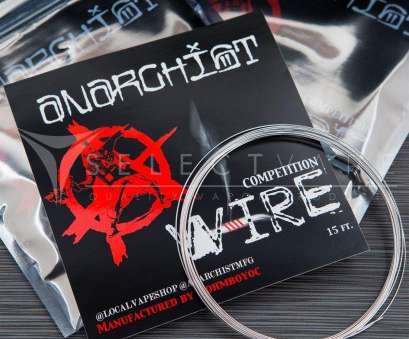 22 gauge anarchist wire Anarchist Competition Wire 15ft, Mechanical Mods, Select Vape 8 Top 22 Gauge Anarchist Wire Galleries